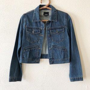 Courtshop Cropped Denim Jacket XS